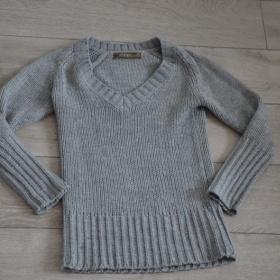 Šedý svetr Zara - foto č. 1