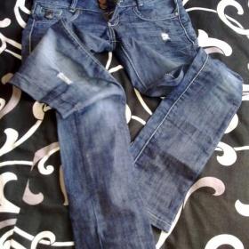 Tmavé kalhoty Bershka - foto č. 1