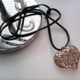 Náhrdelník ve tvaru srdce NewYorker - foto č. 1