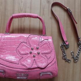 Růžová kabelka Guess - foto č. 1