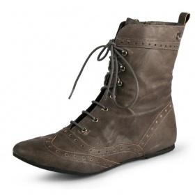 boty podzim/zima (38,39), lodi�ky(37,38) na n�zk�m podpatku a �aty (36 s) - foto �. 1