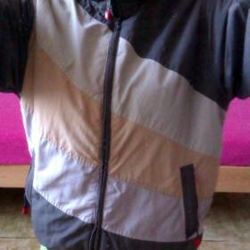 Streetová bunda khaki s pruhy S.A.M. - foto č. 1