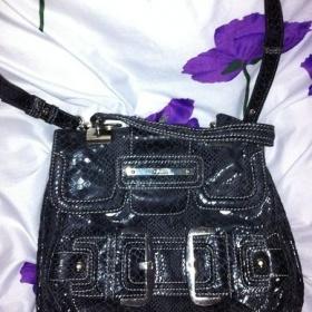 Tmavě modrá kabelka Guess - foto č. 1