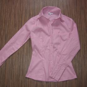Růžová projmutá košile Oodji - foto č. 1