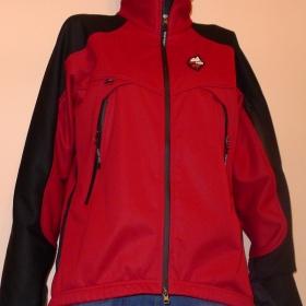 Softshellová bunda HighPoint červenočerná - foto č. 1
