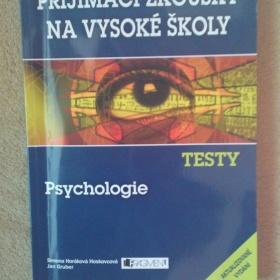 Testy Psychologie - P�ij�mac� zkou�ky na V� - foto �. 1