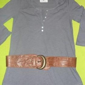 Dámská šedá tunika, halenka H&M - foto č. 1