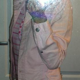Světle růžová bundička Terranova - foto č. 1