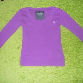 Fialkové tričko Abercrombie&Fitch - foto č. 1