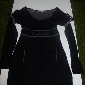 Šaty Angel Devil černé barvy - foto č. 1