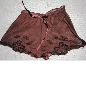 Hnědé kalhotky - foto č. 1