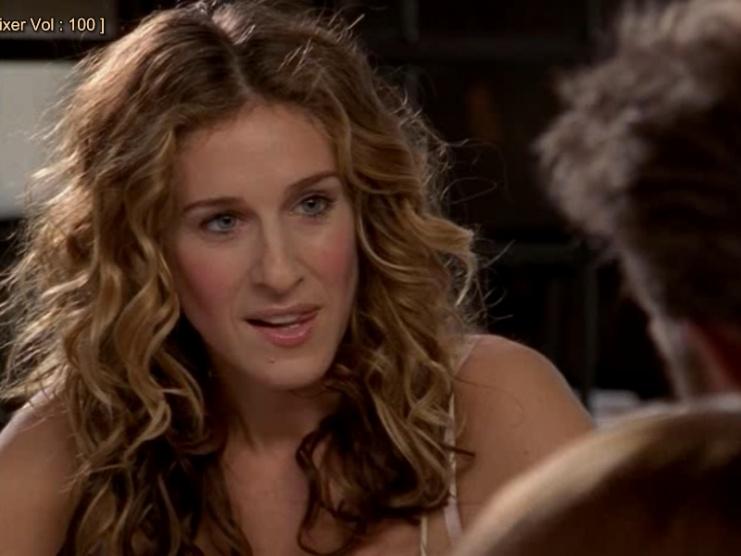 Vlny jako Carrie Bradshaw (S.J. Parker) v Sexu ve městě - Diskuze ... 8daf7ba0001