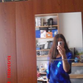 Modr� triko  ann christine - foto �. 1