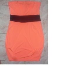 Fosforově oranžové šaty/tunika z Tally weijl - foto č. 1