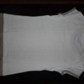 Bílé tričko s potiskem a krátkým rukávem Esprit - foto č. 1