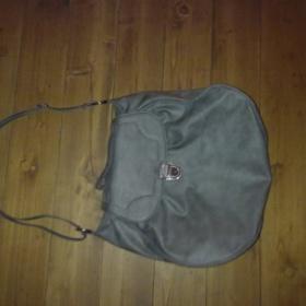 Šedá elegantní velká kabelka Cropptown - foto č. 1