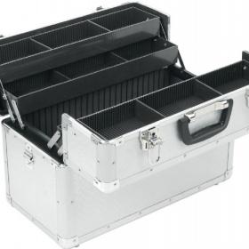 Kosmetický kufr hliníkový - foto č. 1