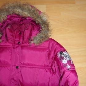 Zimní fialová bunda Subvele - foto č. 1