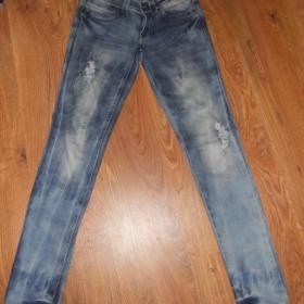 Světle modré džíny Takko 36 - foto č. 1