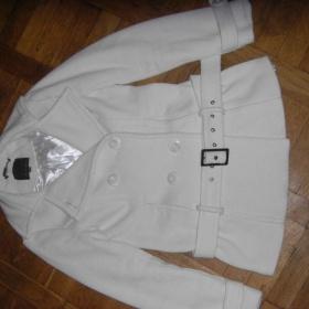 Krémový kabátek Amisu - foto č. 1
