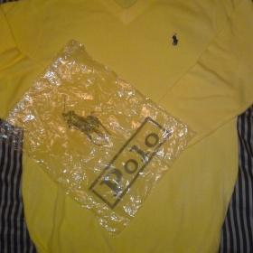 Žlutý svetr Polo Ralph Lauren - pánský - foto č. 1