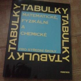 Matematick�, fyzik�ln� a chemick� tabulky