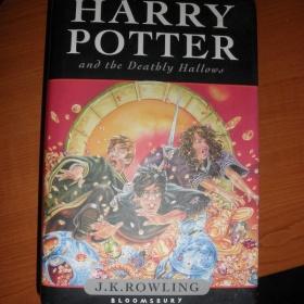 Harry Potter Deathly Hallows poslední díl v angličtině - foto č. 1