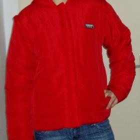 Červená bunda Sport - foto č. 1