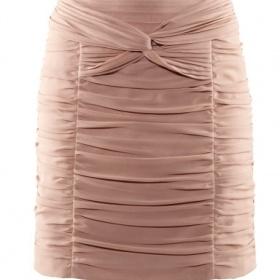 Pudrovou - nude sukni do pasu, elastickou pokud možno v pase na gumu nejlépe - foto č. 1