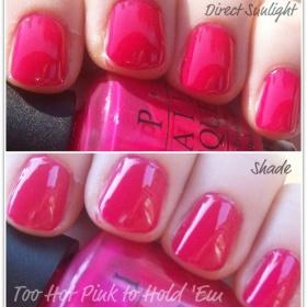 OPI Too Hot Pink too Hold´em - foto č. 1