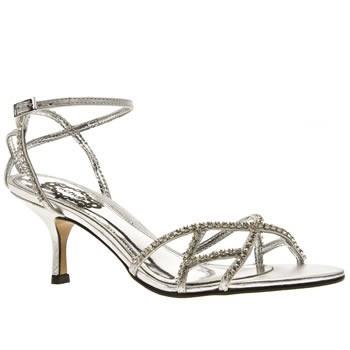 Stříbrné páskové plesové boty - Bazar Omlazení.cz f49dd8228c