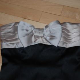 Černé plesové šatičky s mašlí Max and Cleo - foto č. 1