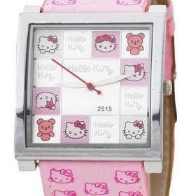 Růžové hodinky Hello Kitty - foto č. 1
