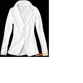 Bílé sáčko z teplákoviny H&M - foto č. 1