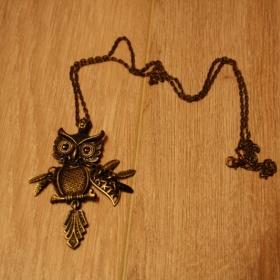 Náhrdelník sovička 2 - foto č. 1