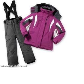 Lyžařský komplet (nebo samostatně bunda/kalhoty), lyžařské rukavice - foto č. 1