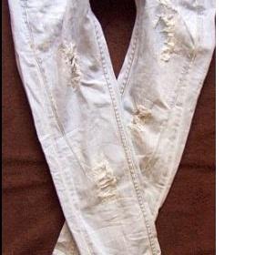 Bershka džíny nízko položené zadní kapsy - foto č. 1