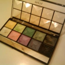 Paleta očních stínů se zrcátkem 10 barev od  Meis Cosmetics - foto č. 1