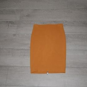 Okrová sukně Zara - foto č. 1