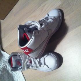 Kotn��kov� tenisky b�l�, Nike - foto �. 1