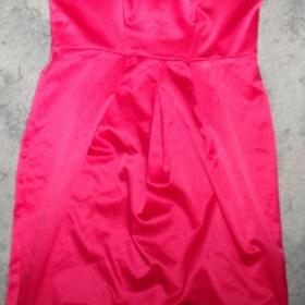 Společenské - plesové šaty  F&F růžové - foto č. 1
