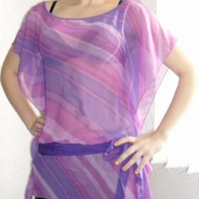 Duhová tunika - fialová  Pimkie - foto č. 1