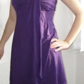 Mini šaty  Next - fialové - foto č. 1