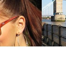Oranžové brýle styl Jitky Válkové - foto č. 1