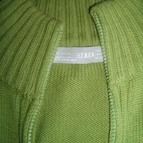 Zelený svetr Zara - foto č. 1