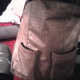 Velká hnědá crossbody kabelka Orsay - foto č. 1