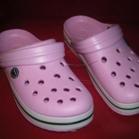Gumové růžové boty - foto č. 1
