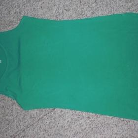 Zelené tílko - minišaty KappaAhl - foto č. 1