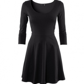 Černé neformální šaty H&M - foto č. 1
