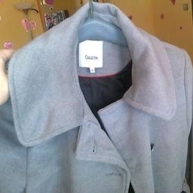 Šedý kabát  K - collection - foto č. 1